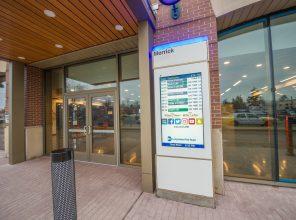 Information Totem at Merrick Station - 01-29-19