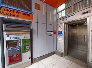 Flushing Main Street Ticket Vending Maching and New Elevator 08-31-2018