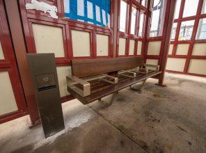 New USB Charging Station - Eastbound Platform Waiting Room - Syosset Station - 12-14-18