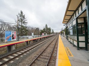 Westbound Platform - Stony Brook Station - 12-14-18