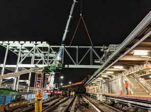 Jamaica Capacity Improvements - Westerly Bridge Construction 10-23-2018