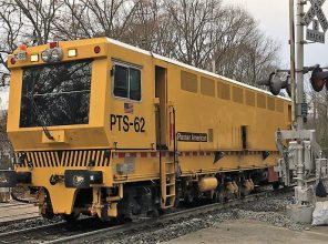 LIRR Ballast Stabilizer machine 01-15-19