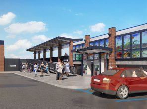 New renderings for Merillon Avenue station enhancement released October 2019