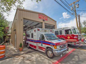 Covert Avenue Grade Crossing Elimination Temporary Firehouse 06-07-19