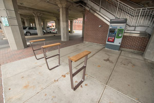 New Bicycle Racks – Baldwin Station – 11-30-2018