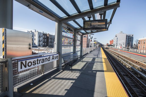 Nostrand Avenue Station 10-02-20