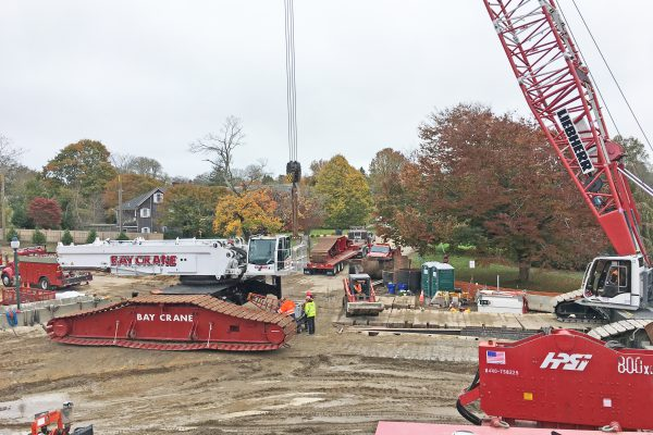 Accabonac Road Bridge - 1600 Crane Assembly -10-29-19