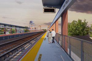 Carle Place Platform (rendering)