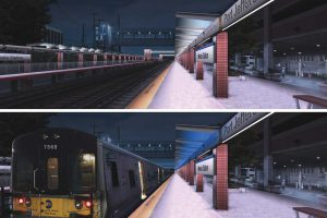 Renovation of Mineola Station Winter 2020