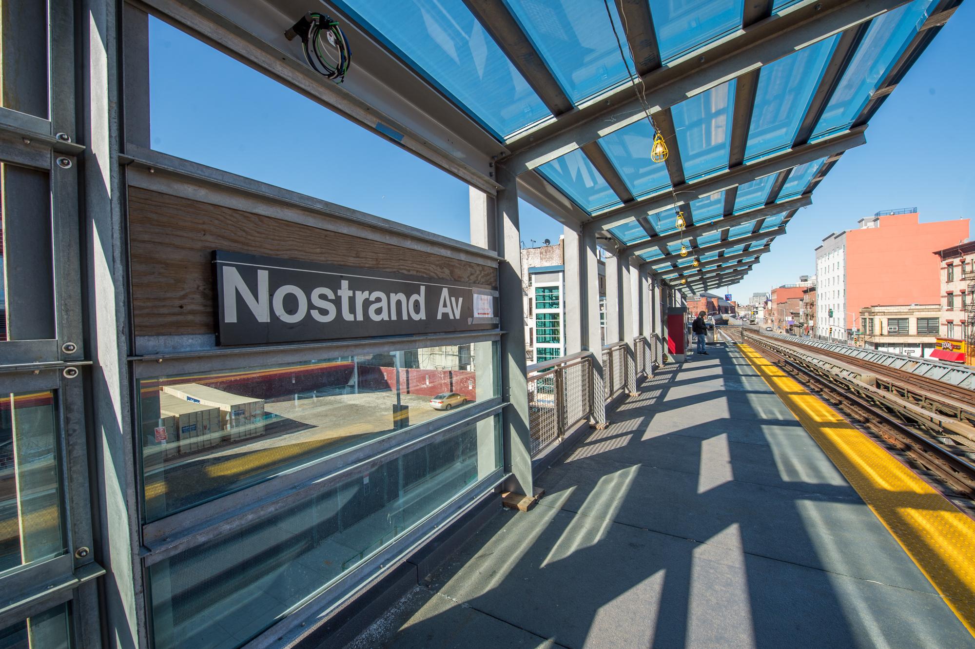 Nostrand Avenue Station Rehabilitation - 03-28-19