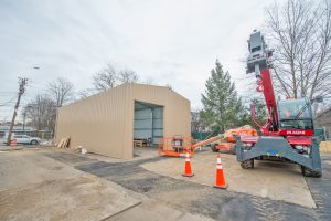 New Hyde Park Temporary Firehouse - 03-29-19