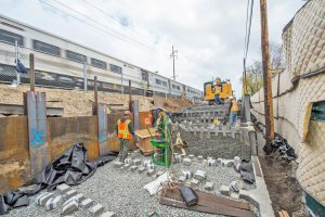 Carle Place Station Progress - 04-26-19