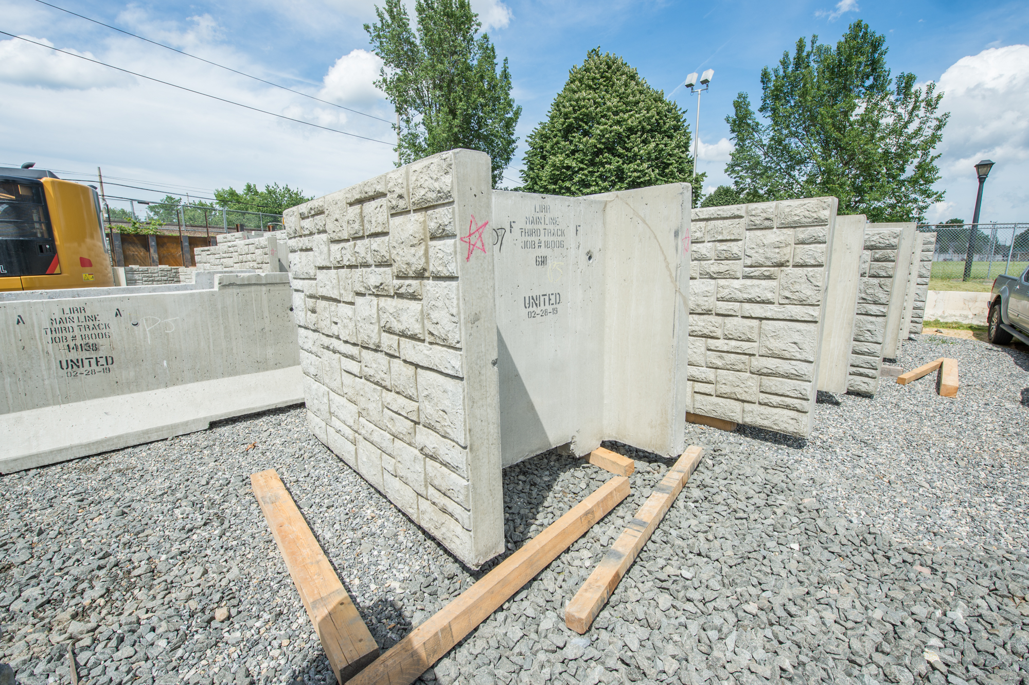 Sound Walls Delivered to Floral Park - 06-26-19