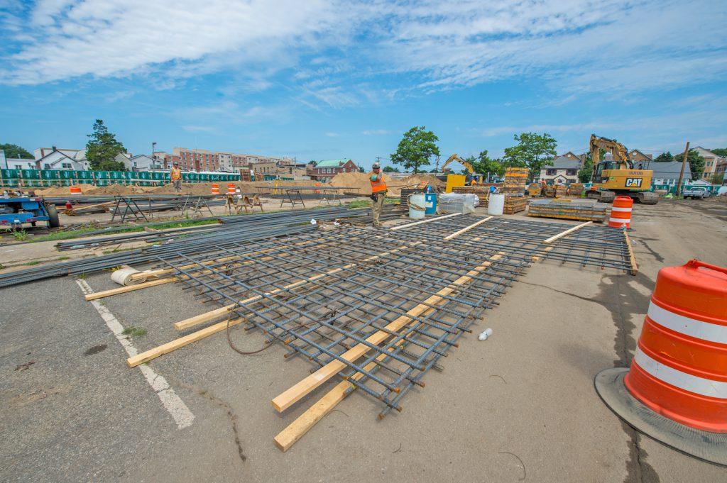 Westbury North Parking Structure - 07-31-19