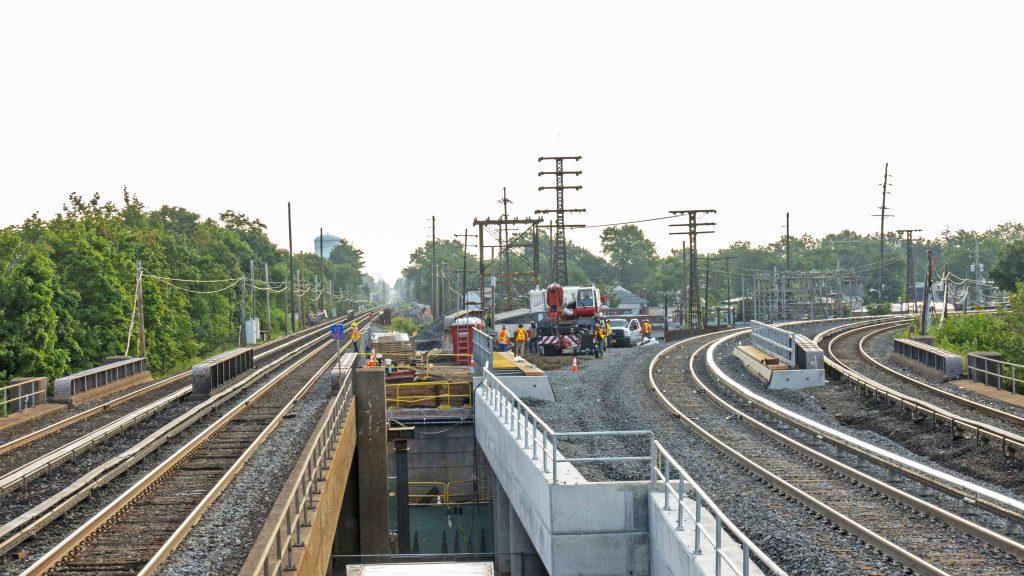 New South Tyson Avenue Bridge Successfully Installed - 08-21-19