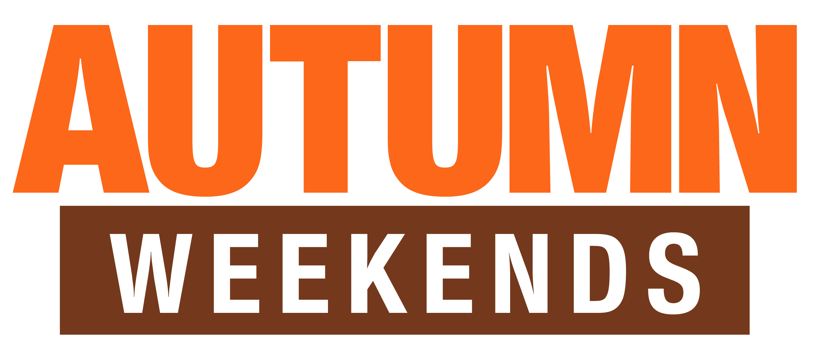 Autumn Weekends logo 2019