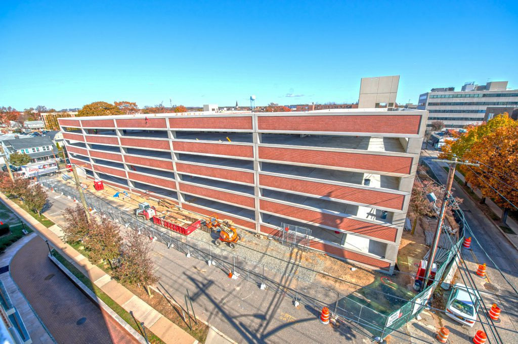 Mineola Harrison Parking Structure