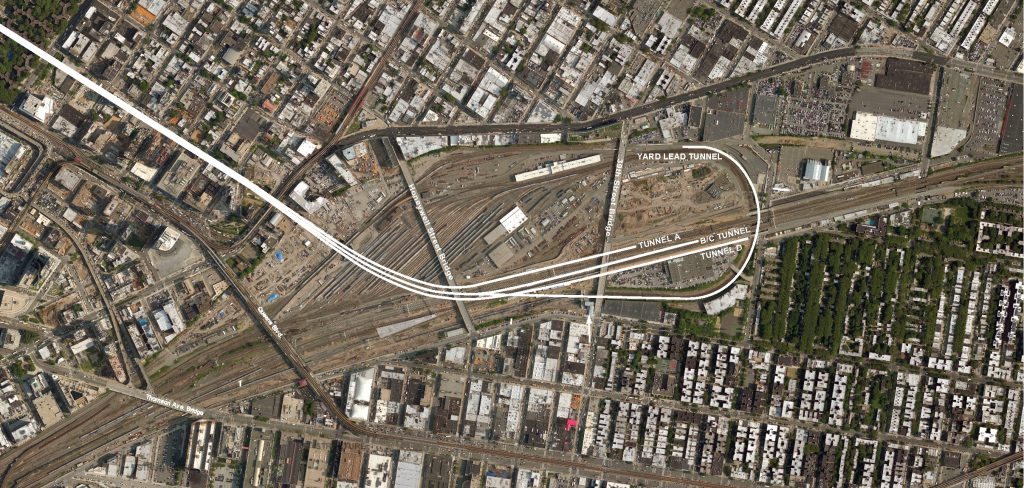 East Side Access - Harold Approach Structures Map - 09-18-19