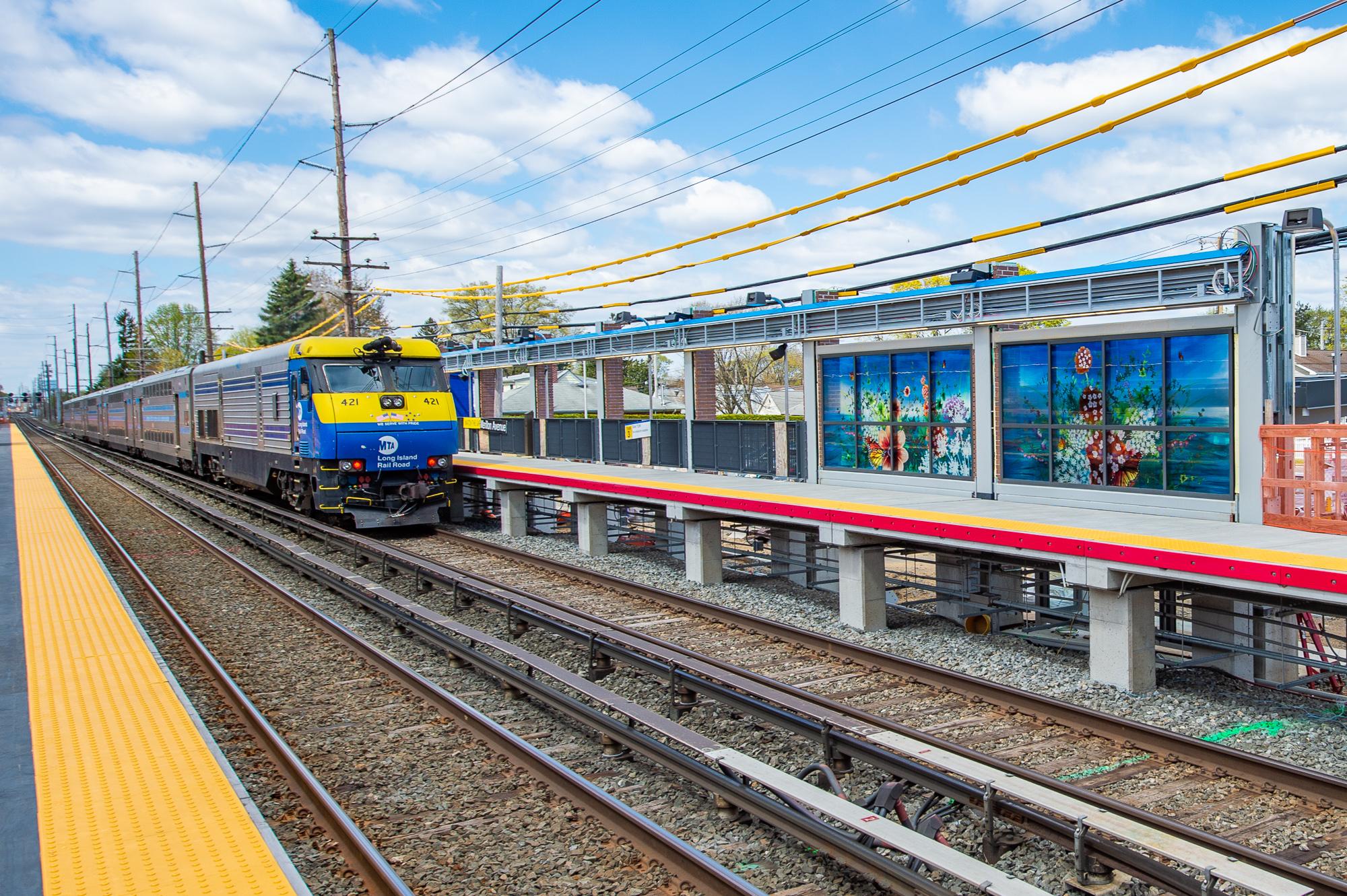 Merillon Avenue Station 04-23-21