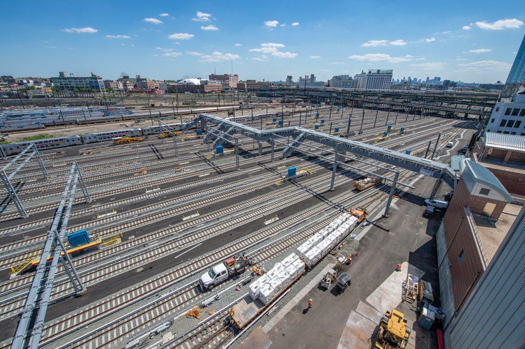Harold Interlocking and Midday Storage Yard 05-28-21